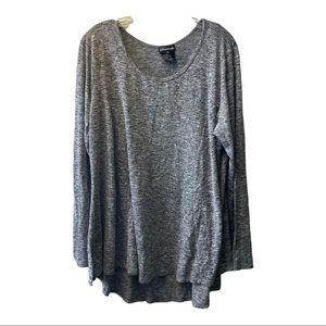 Sweaterette long sleeve crew neck style size 2x